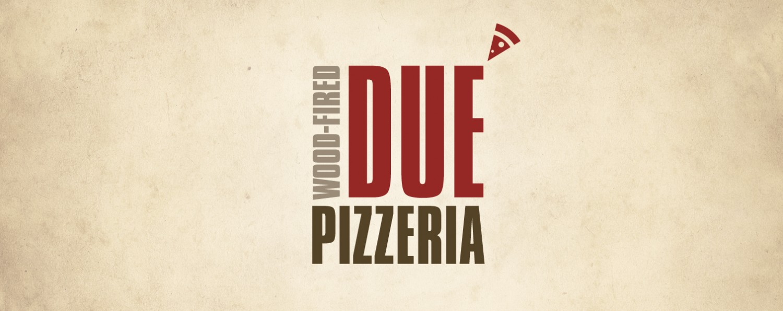 Due Pizzeria Logo