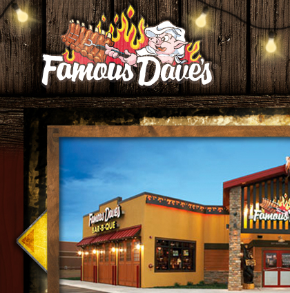Famous Dave's Website