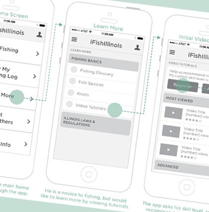 iFish Illinois Mobile App